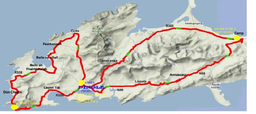 Dingle peninsula cycle challenge 2014