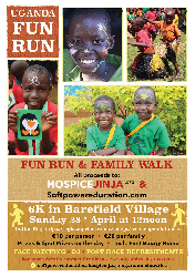Uganda Fun Run - Uganda Fun Run - Family Entry
