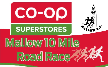 Mallow AC 10 mile road race 2020 - Mallow AC 10 mile road race 2020 - 10 Mile Individual Entry