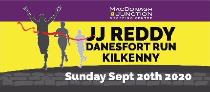 JJ Reddy Danesfort Run 2020 - 5K Chipped Run - 5K - Early Bird - Individual