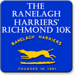 Ranelagh Harriers Richmond 10K - Ranelagh Harriers Richmond 10K - With England Athletics Competition Licence