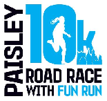 Paisley 10K Road Race with Fun Run 2019 - Fun Run - Fun Run Unattached Child Entrant (U16)